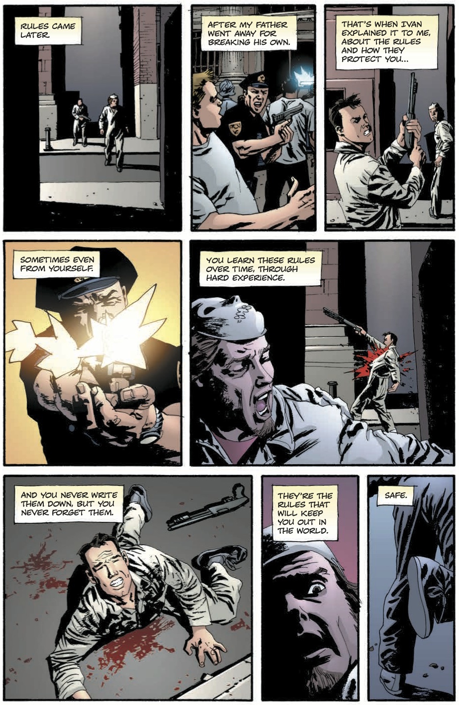 Criminal vol. 1: Coward, anteprima 01