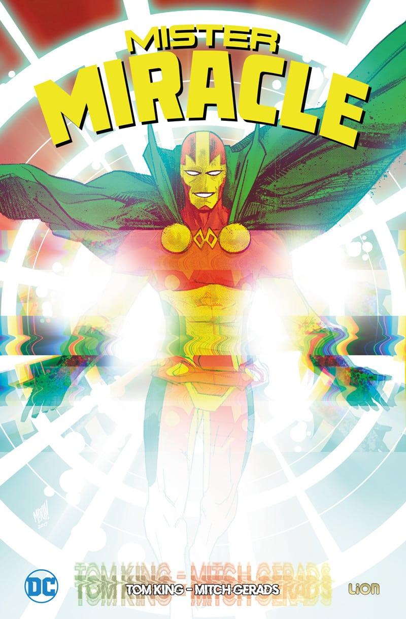 Mister Miracle vol. 1, copertina di Nick Derington