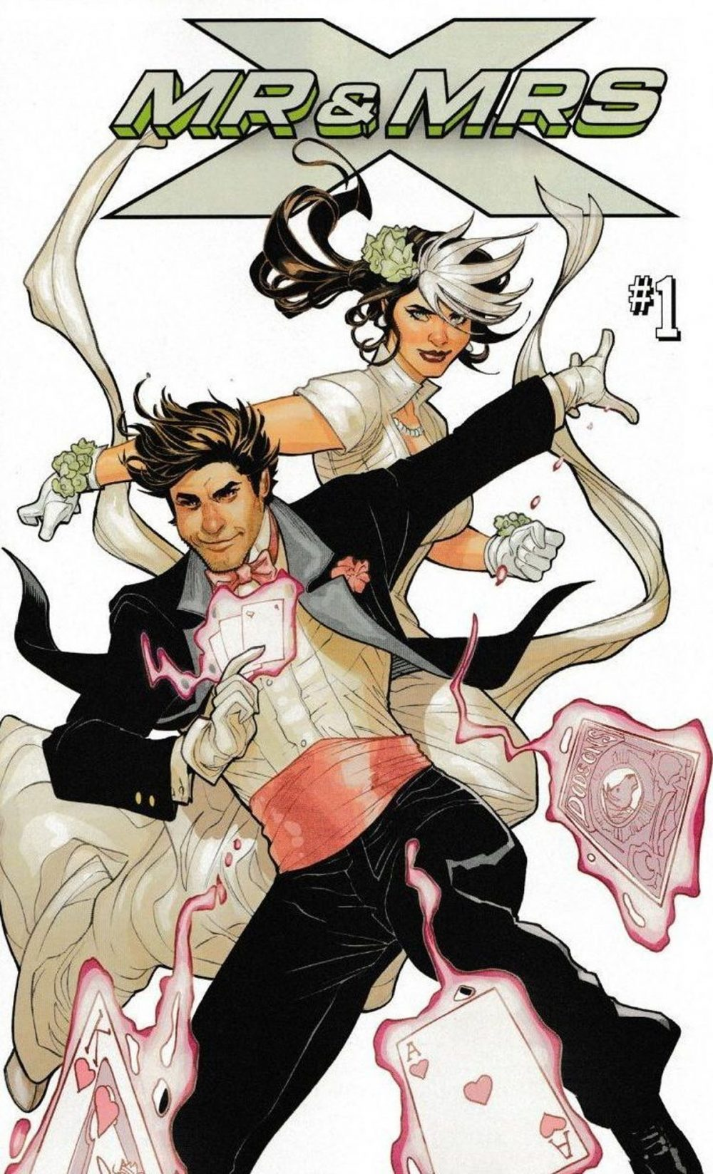 Mr. and Mrs. Smith #1, copertina di Terry Dodson