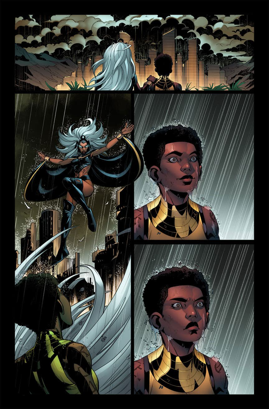 X-Men: Wakanda Forever #1, anteprima 01