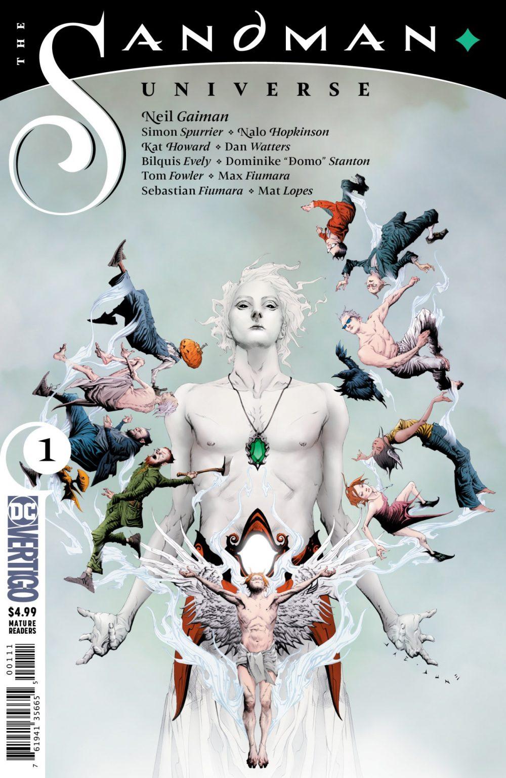 Sandman Universe #1, copertina di Jae Lee