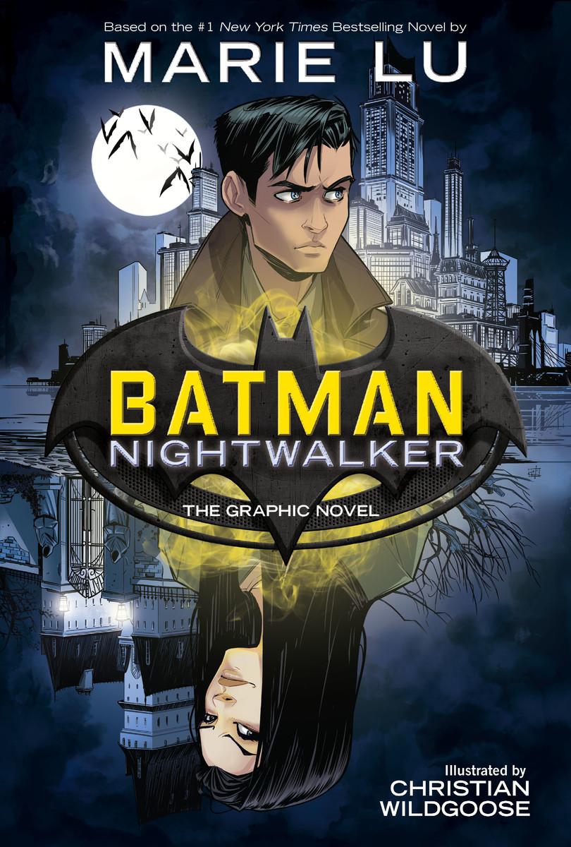 Batman: Nightwalker, copertina di Chris Wildgoose