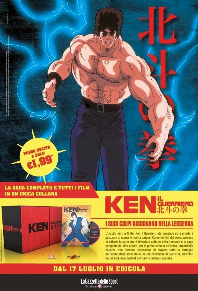 Collana DVD Ken Il Guerriero