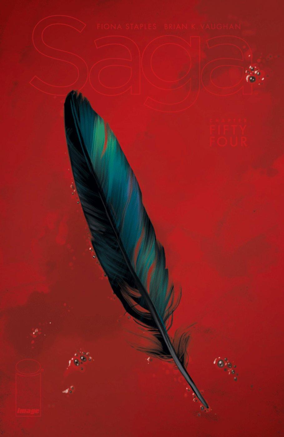 Saga #54, copertina di Fiona Staples
