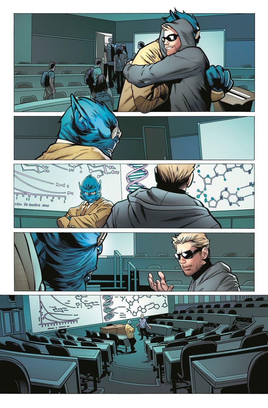 Astonishing X-Men #1, antperima 02