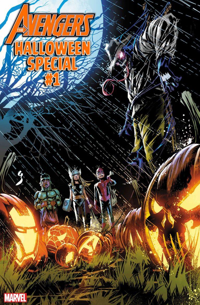 Avengers Halloweeen Special #1, copertina di Geoff Shaw