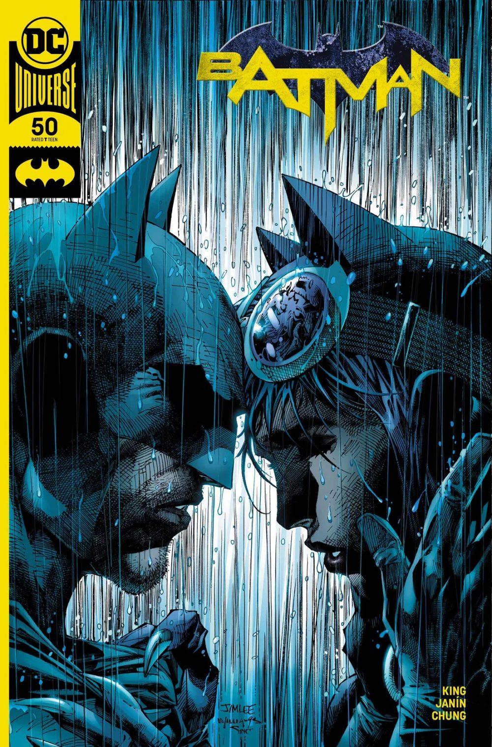 Batman #50, variant cover di Jim Lee