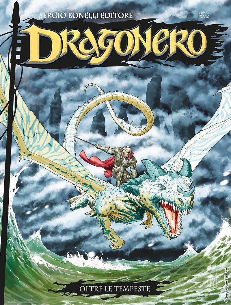 Dragonero 61: Oltre le tempeste, copertina di Giuseppe Matteoni