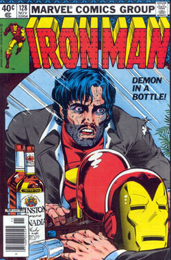 Demon in a Bottle, copertina di Bob Layton