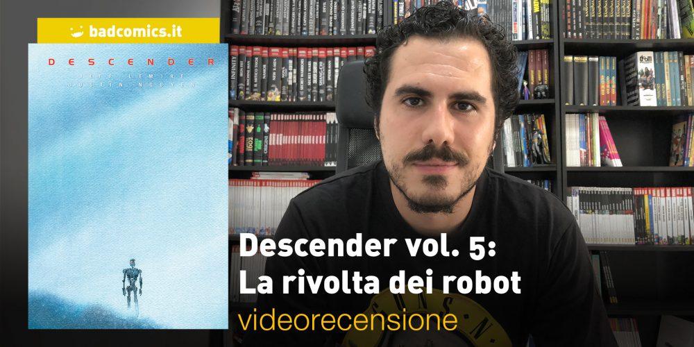 Descender vol. 5: La rivolta dei robot