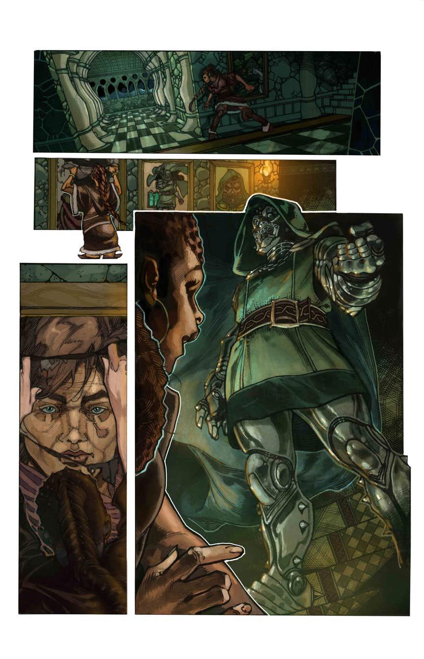 Fantastic Four #1, anteprima 03
