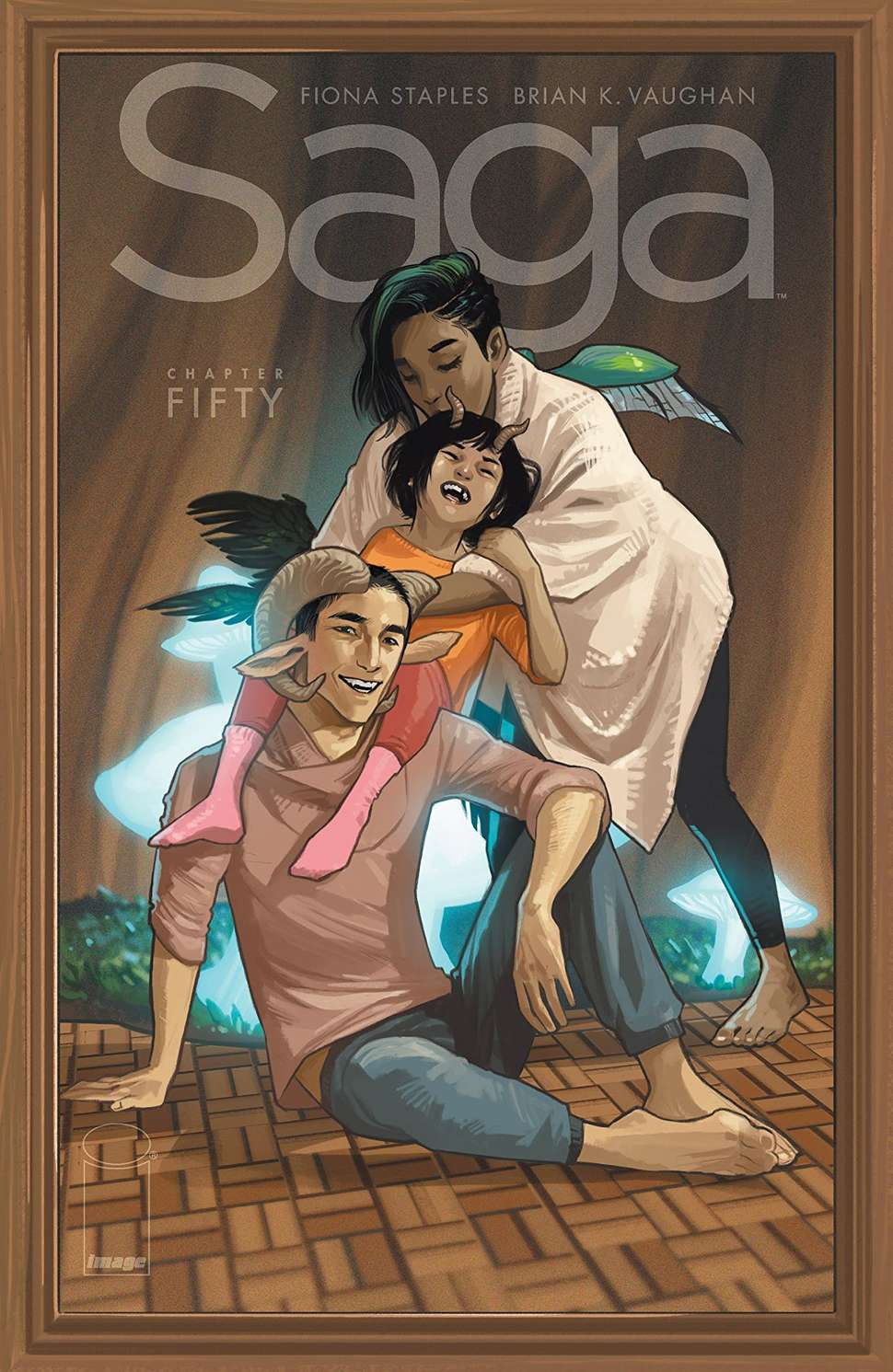 Saga #50, copertina di Fiona Staples