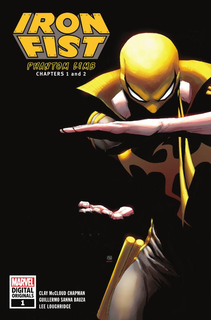 Iron Fist: Phantom Limb (MDO) #1, copertina di Khoi Pham
