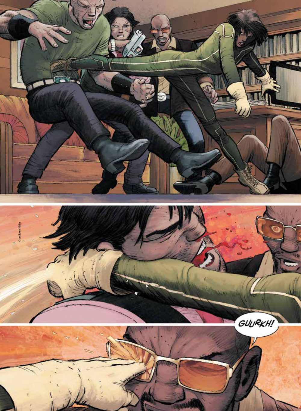 Kick-Ass vol. 1: La nuova tipa, anteprima 01