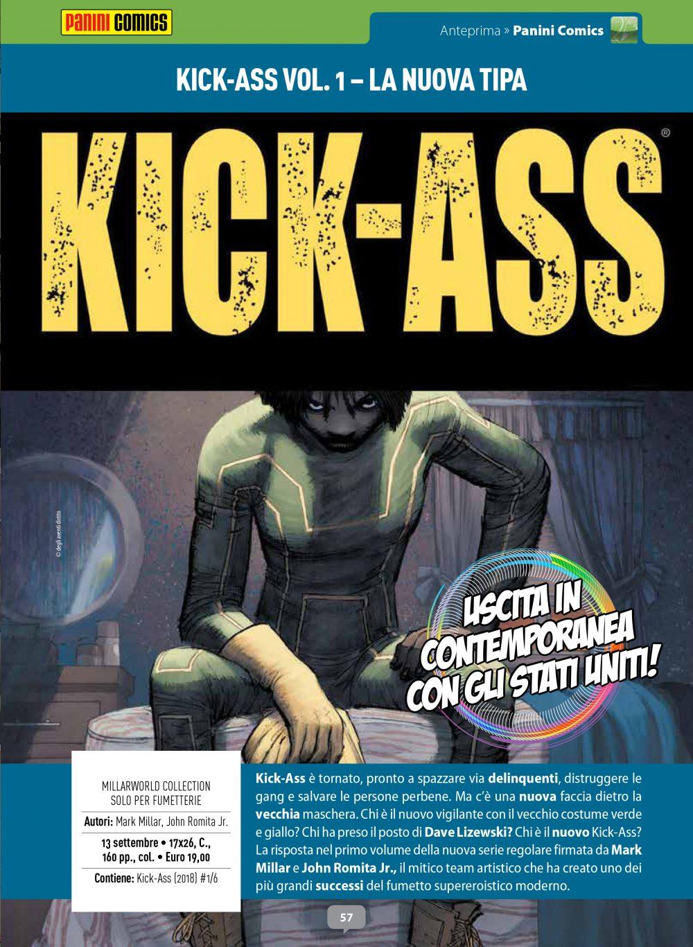 Kick-Ass vol. 1: La nuova tipa su Anteprima