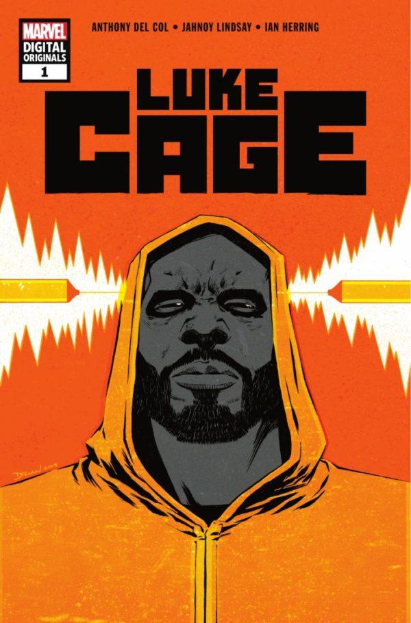 Luke Cage (MDO) #1, copertina di Declan Shalvey