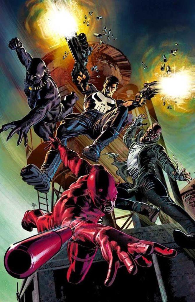 Marvel Knights, copertina di Mike Deodato Jr.