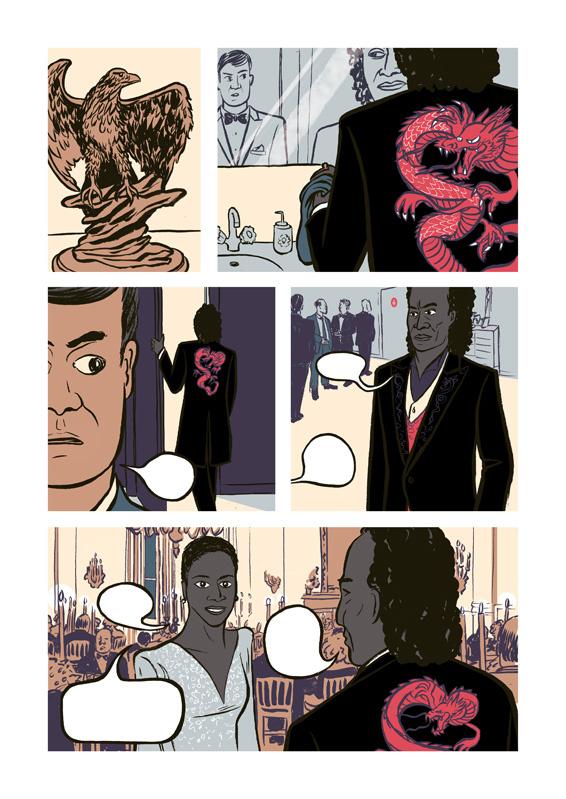 Miles: Assolo a fumetti, anteprima 01