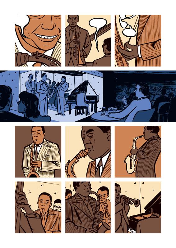 Miles: Assolo a fumetti, anteprima 02
