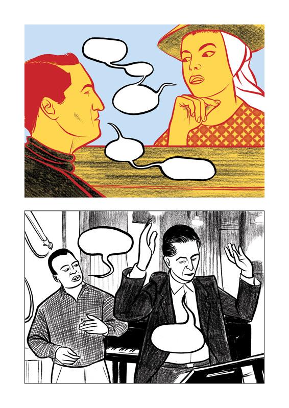 Miles: Assolo a fumetti, anteprima 05