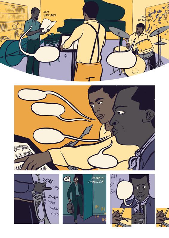 Miles: Assolo a fumetti, anteprima 06