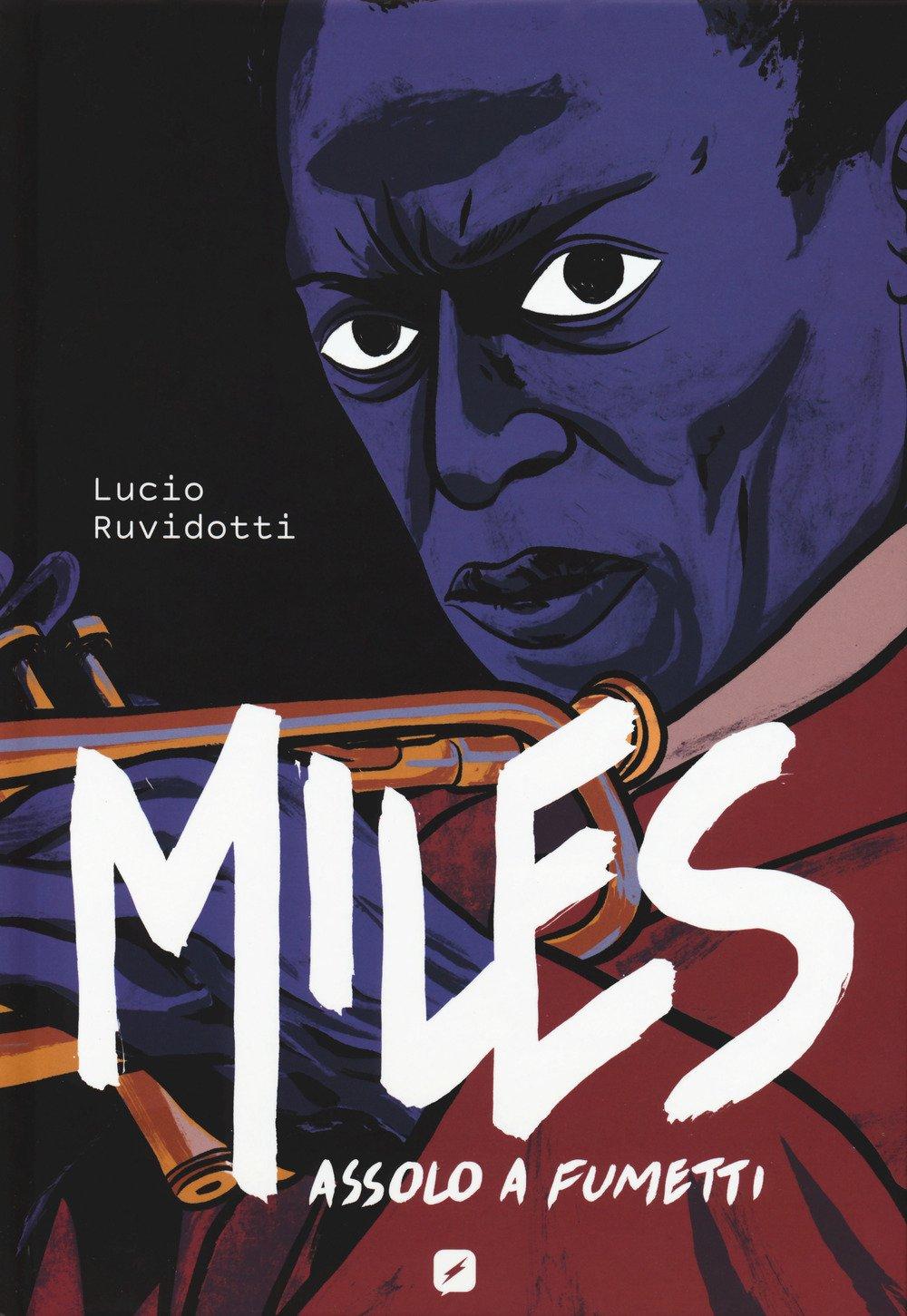 Miles: Assolo a fumetti, copertina di Lucio Ruvidotti