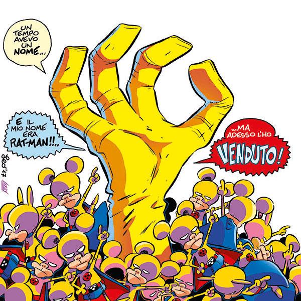 Rat-Man Gigante 40, copertina di Leo Ortolani