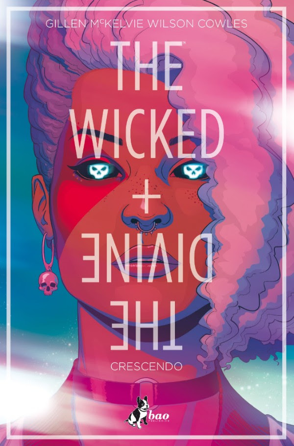 The Wicked + The Divine vol. 4: Crescendo, copertina di Jamie McKelvie