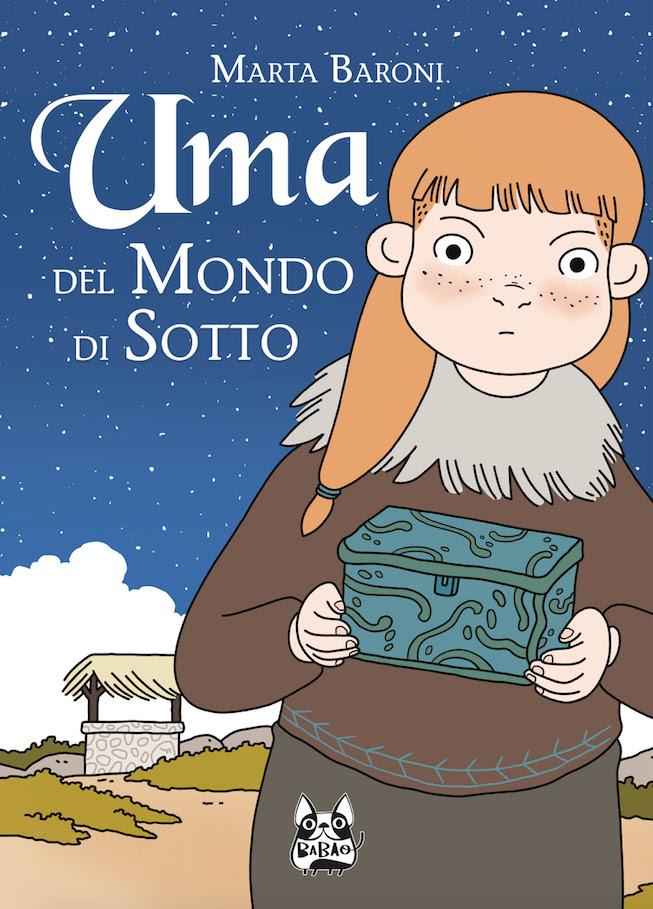 Uma del Mondo di Sotto, copertina di Marta Baroni
