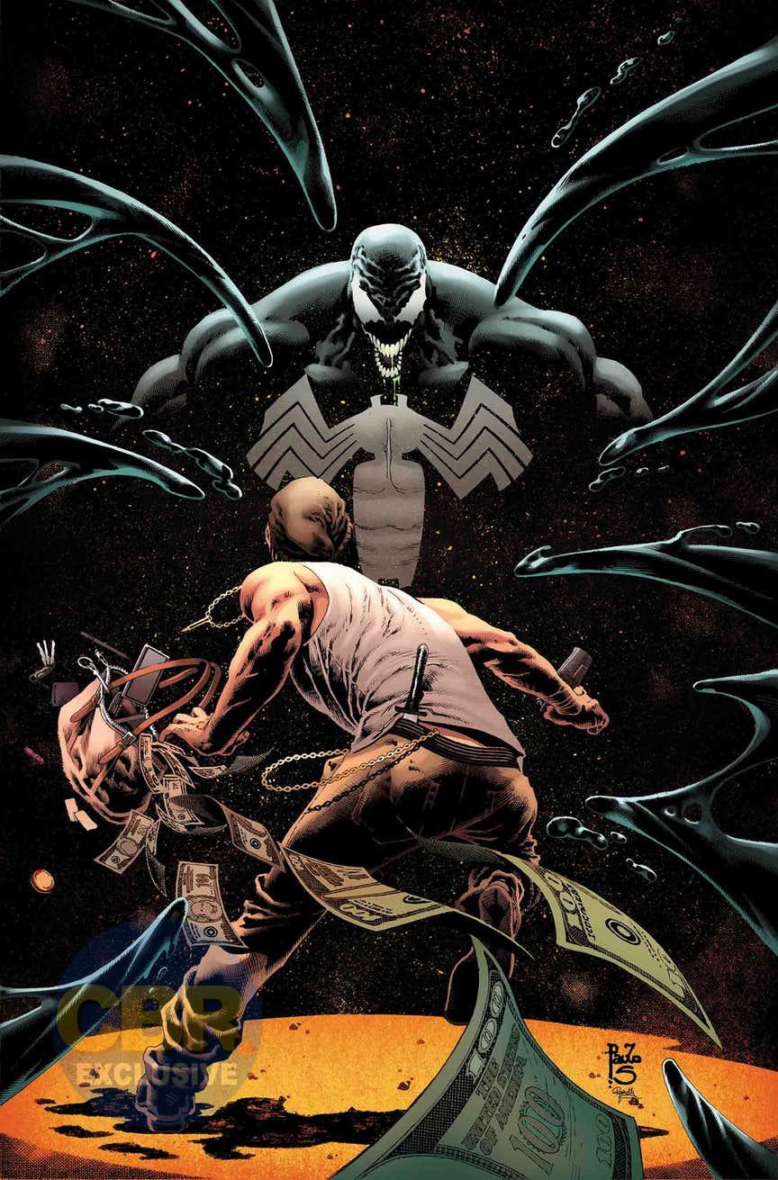 Venom Annual #1, copertina di Paulo Siqueira