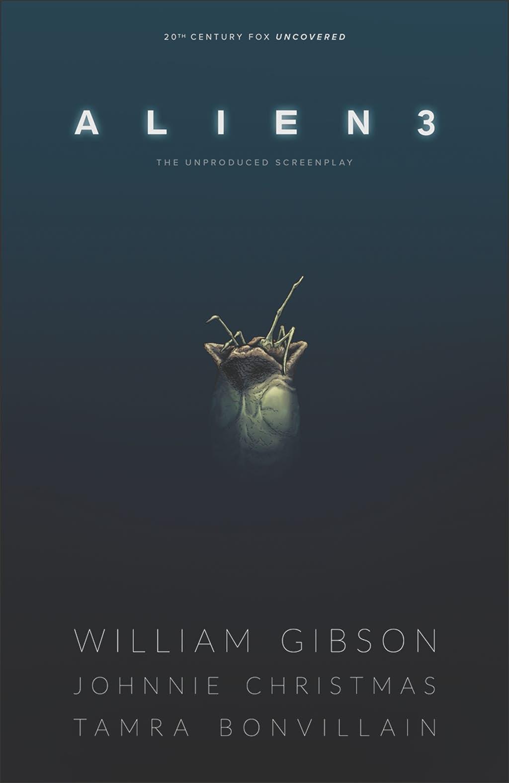 William Gibson's Alien 3, copertina di Daniel Benneworth-Gray
