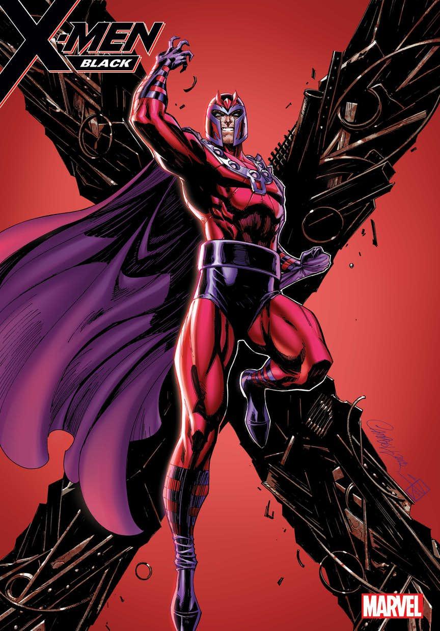 X-Men: Black #1, variant cover di J. Scott Campbell
