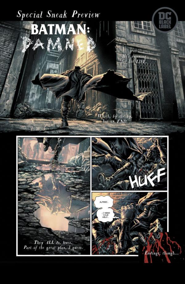 Batman: Damned #1, anteprima 01