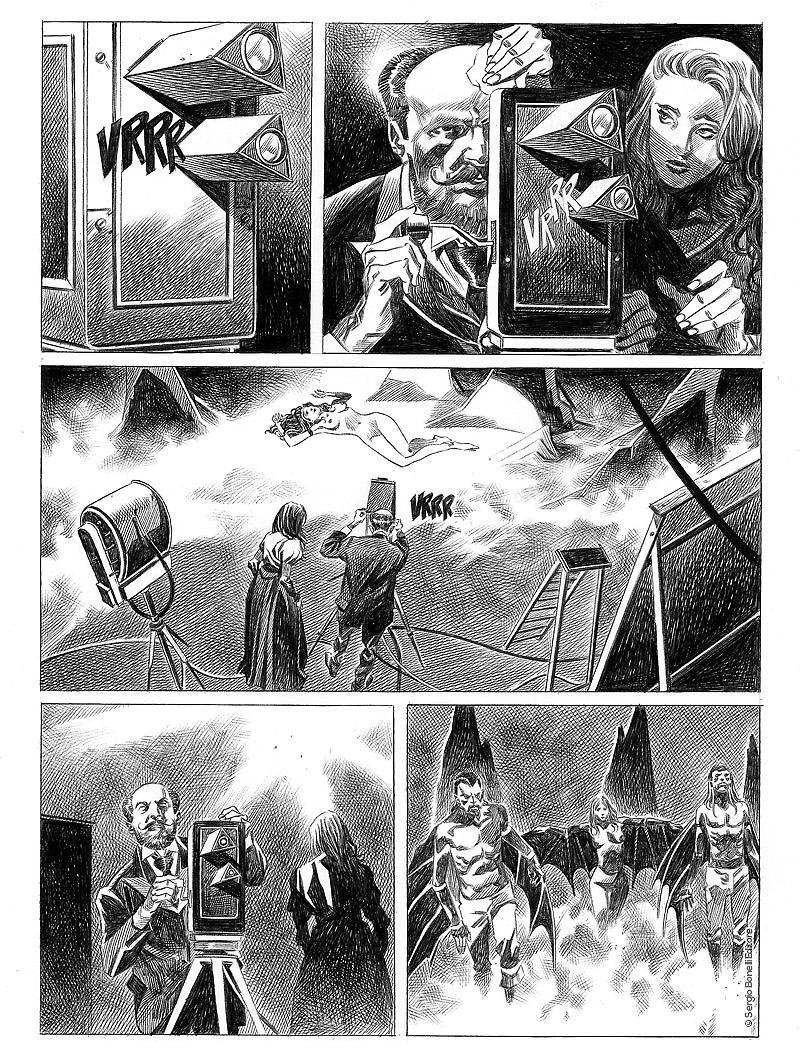 Dampyr 221: Pianeta di sangue, anteprima 03