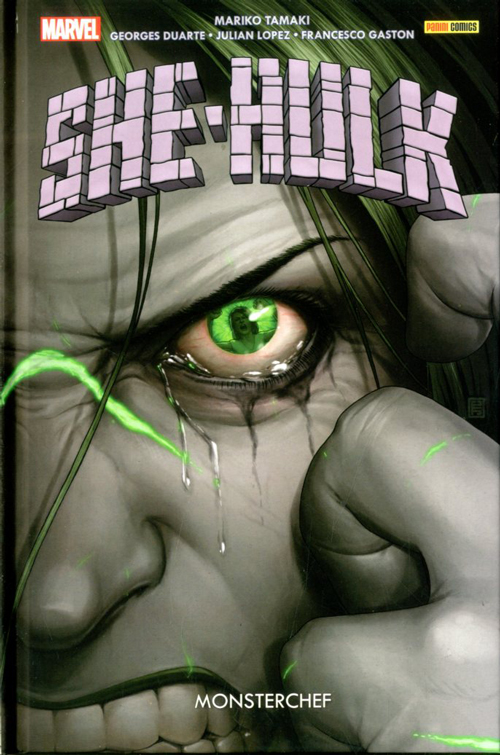 She-Hulk vol. 2: Monsterchef, copertina di John Tyler Christopher