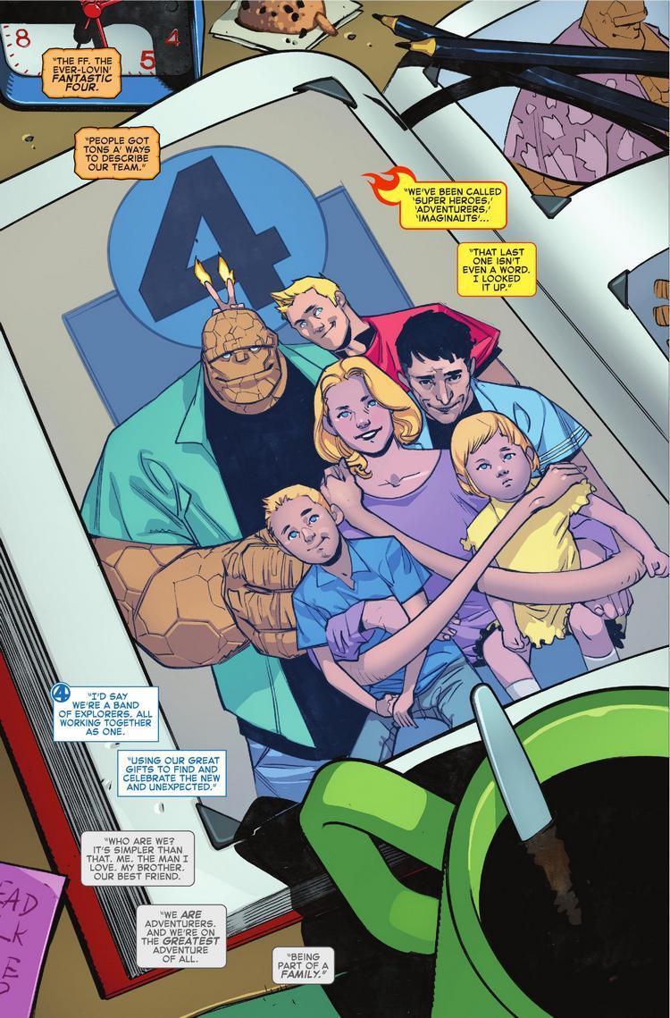 Fantastic Four #1, anteprima 01