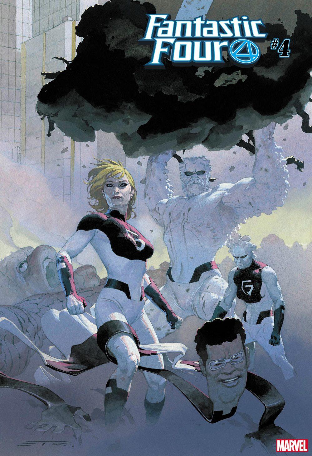 Fantastic Four #4, copertina di Esad Ribic