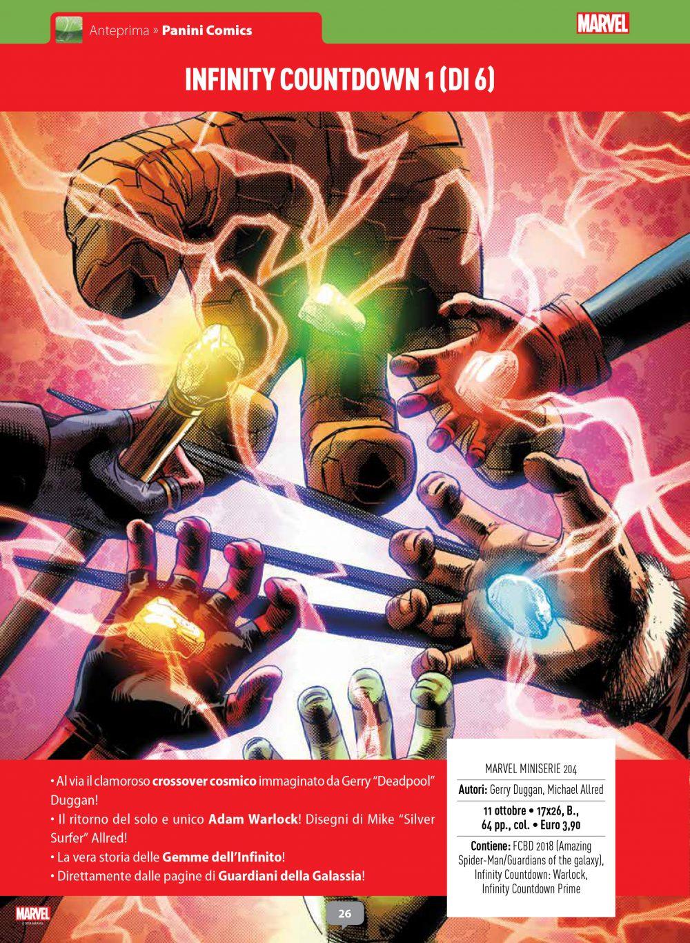 Infinity Countdown su Anteprima 01
