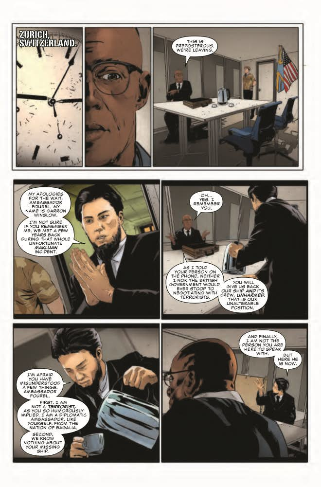 Punisher #1, anteprima 01