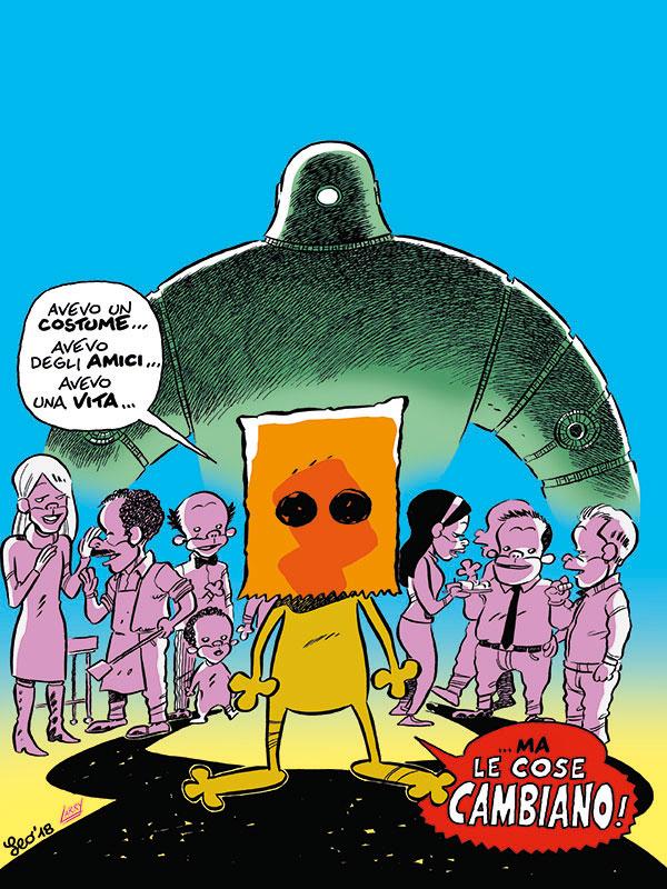 Rat-Man Gigante 53, copertina di Leo Ortolani