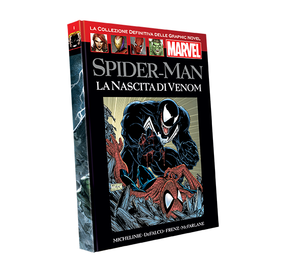 Graphic Novel Marvel vol. 1 - SPIDER-MAN: LA NASCITA DI VENOM