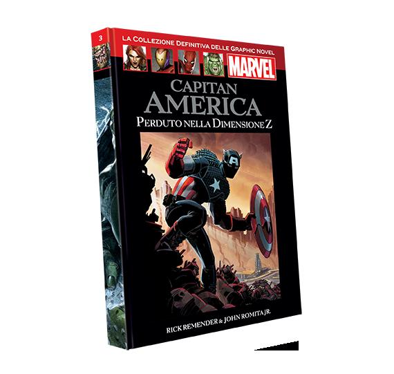 Graphic Novel Marvel vol. 3 - CAPITAN AMERICA – FUGA DALLA DIMENSIONE Z