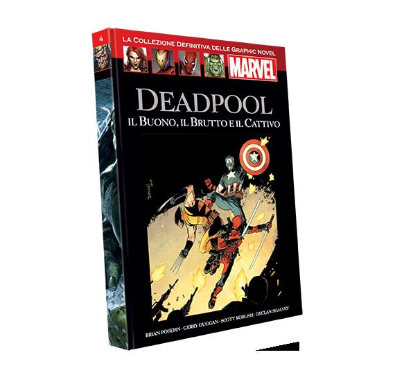 Graphic Novel Marvel vol. 4 - DEADPOOL