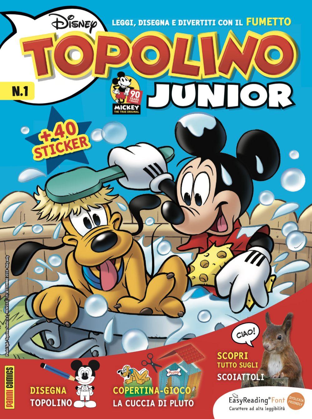 Topolino Junior 1, copertina