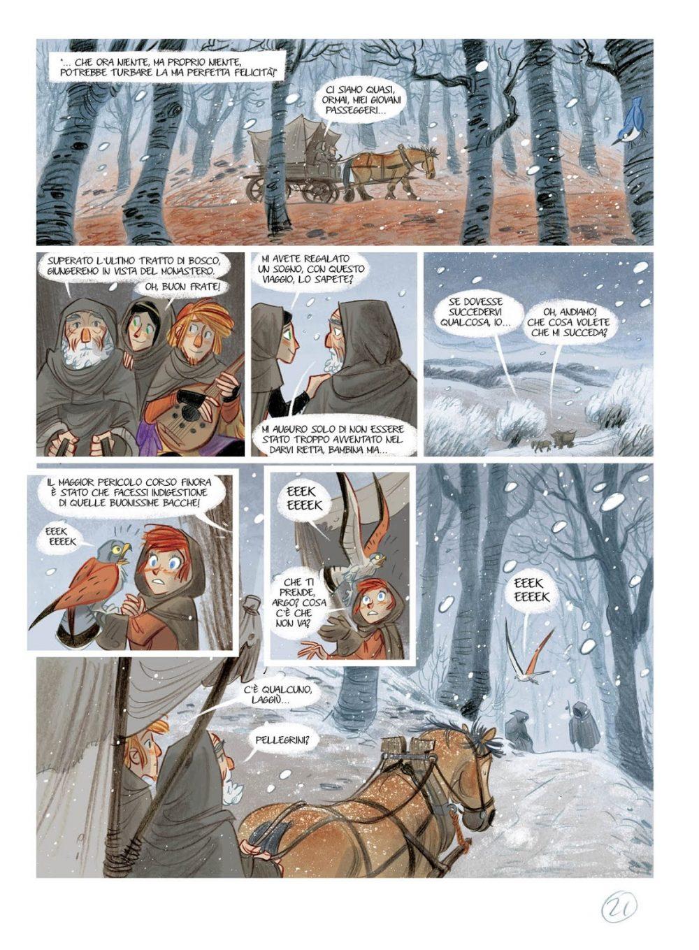 Tosca dei boschi, anteprima 02