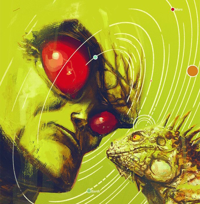 Martian Manhunter, teaser