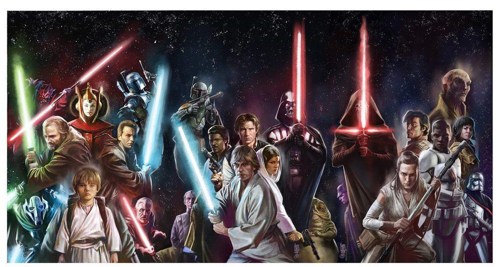 Age of Star Wars, immagine promozionale di Giuseppe Camuncoli ed Elia Bonetti