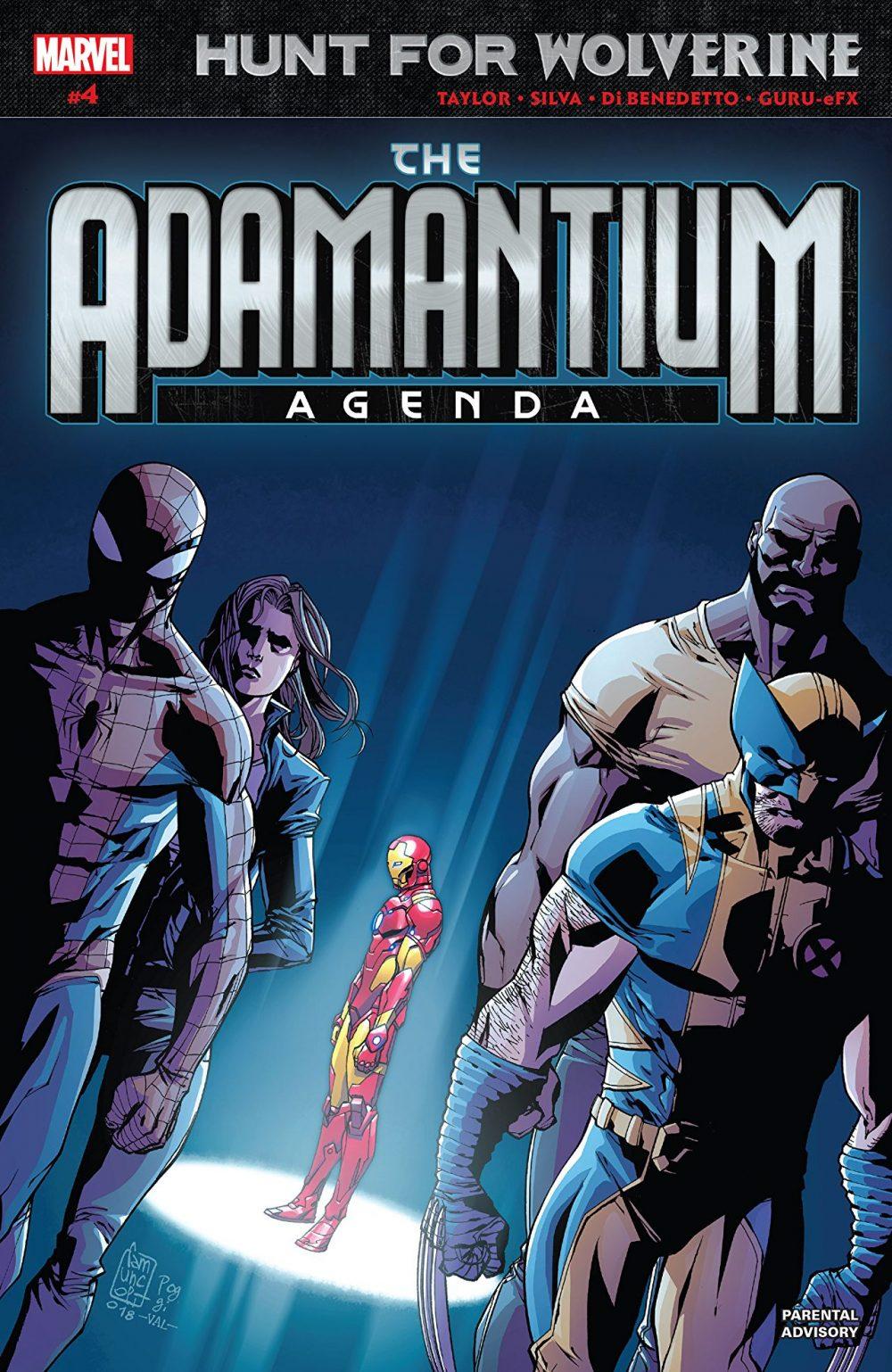 Adamantium Agenda #4, copertina di Giuseppe Camuncoli