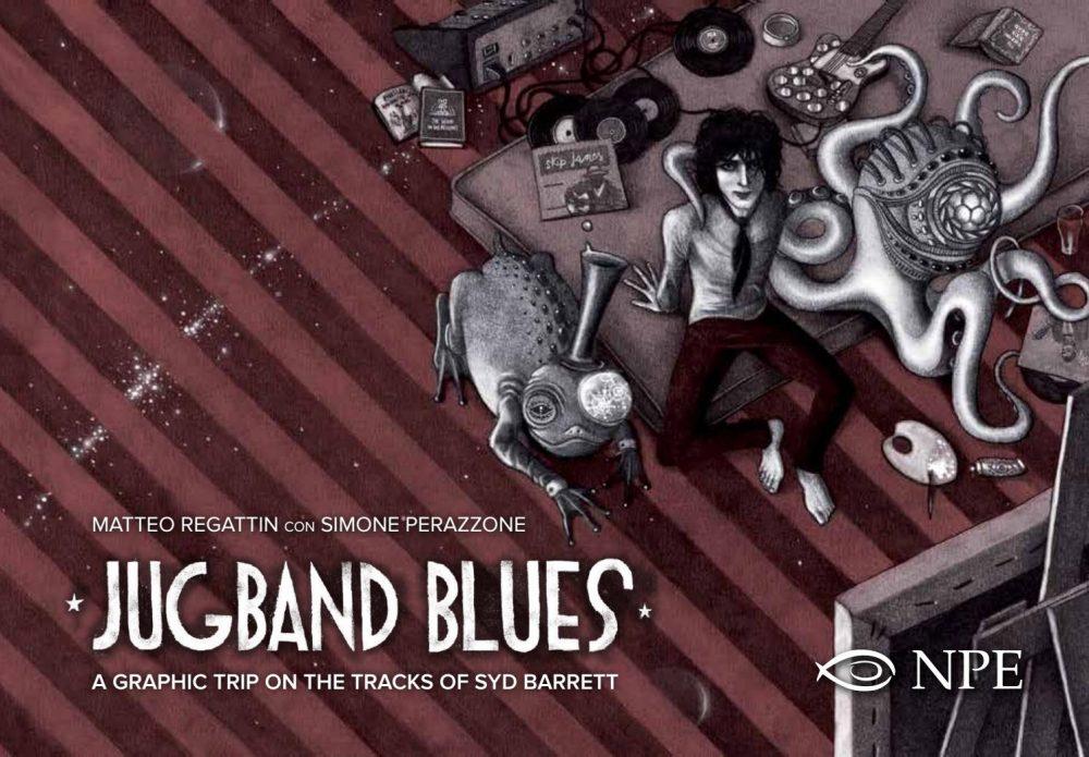 Jugband Blues, copertina di Matteo Regattin