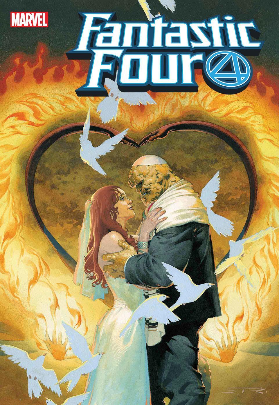 Fantastic Four #5, copertina di Esad Ribic